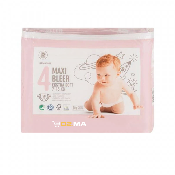 Bleer-Couche bebe-Taille4-50units-7-16kg